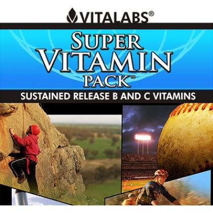 Super Vitamin Pack 30 Packs 180 tabs Vitalabs