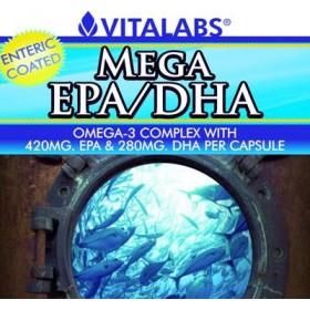 MEGA EPA/DHA OMEGA-3 COMPLEX Vitalabs