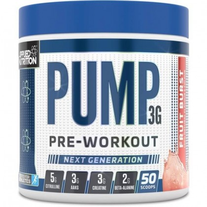 Pump 3G 375g Pré-treino Applied Nutrition - CorposFlex