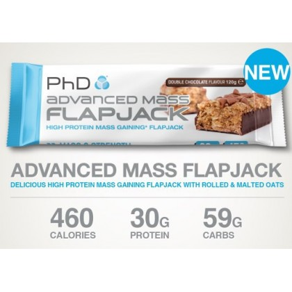 Advanced mass flapjack 120g barrita PhD