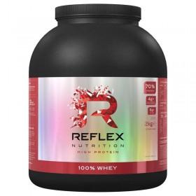 100 Whey Protein 2kg Proteina Reflex Nutrition - CorposFlex