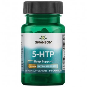 5-HTP 100mg 60 caps Extra Forte Swanson Health