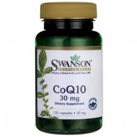 CoQ10 120 Caps Coenzima Ubiquinol Preço Swanson