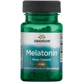 Melatonin 3mg 120 caps Melatonina Swanson