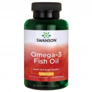 Omega 3 Fish Oil 150 Softgels Oleo Peixe Swanson