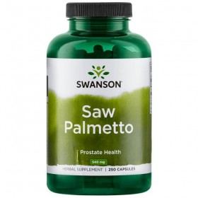 Saw Palmetto 540mg 100 caps Swanson Health