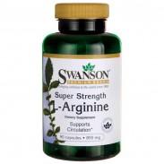 L-Arginine 90 caps 850mg Arginina Super Forte Swanson