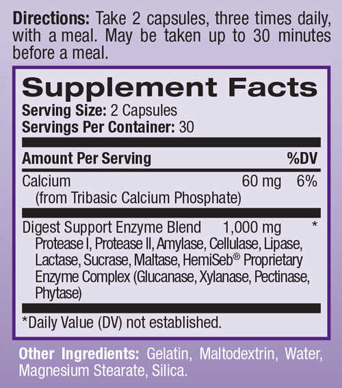 natrol-digest-support-60-caps-supplement-facts