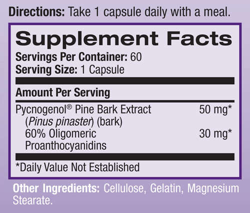 pycnogenol-50mg-natrol-nutrition-supplement-facts