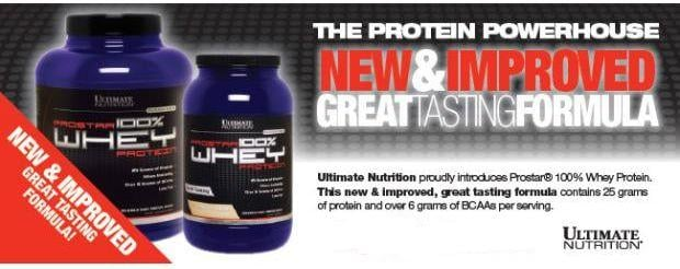 Ultimate nutrition prostar 100 % whey protein powder in India